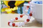 天然石ブレスレット 〜愛を引き寄せるラブブレス