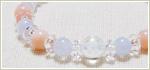 天然石パワーストーンブレスレット 〜清らかで美しいロータス